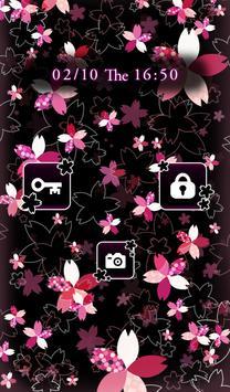 Cute wallpaper★Modern SAKURA screenshot 2