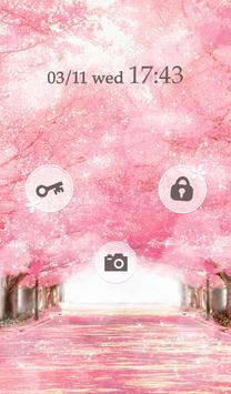Cute wallpaper★Sakura Avenue apk screenshot