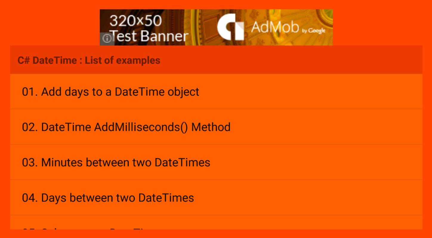 Get time from datetime android