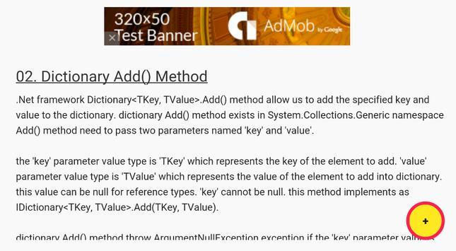 C# Dictionary Examples screenshot 1