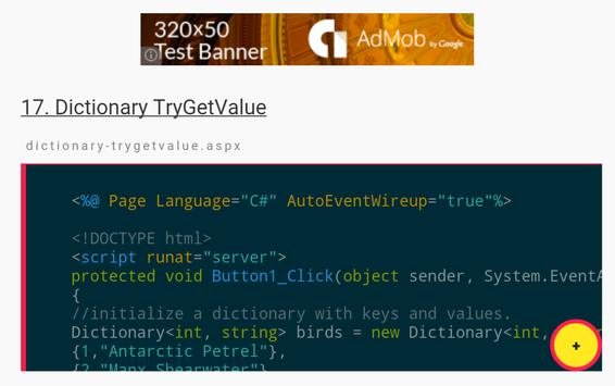 C# Dictionary Examples APK Download - Free Education APP for Android ...