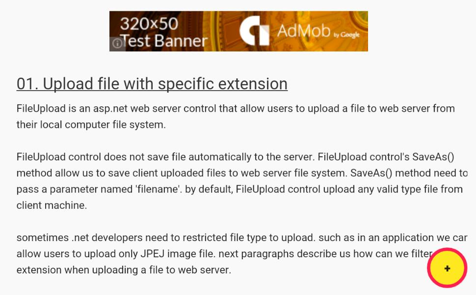 ASP NET FileUpload Examples for Android - APK Download