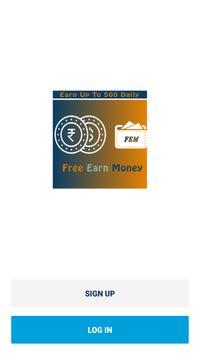 Free Earn Money poster