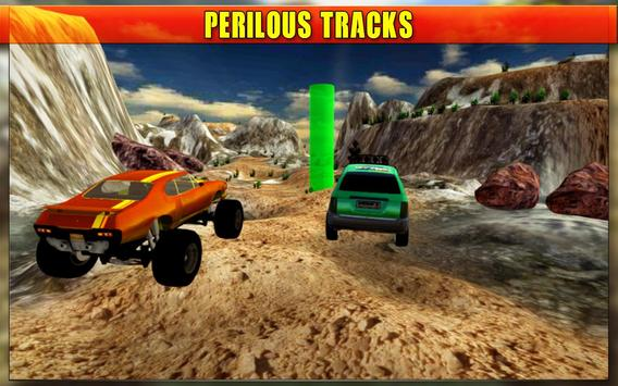 Impossible Car : Mountain Track  Stunt Drive apk screenshot