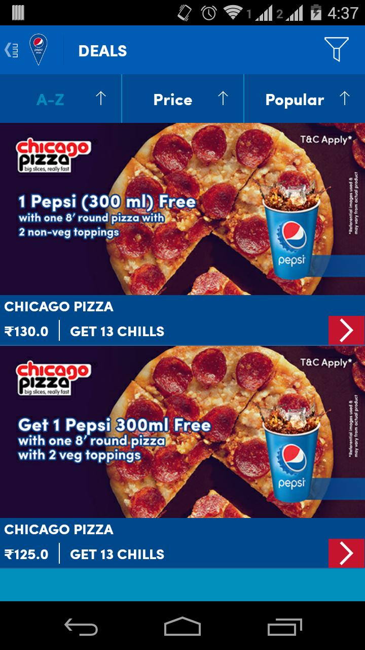 Pepsi Deals for Android - APK Download
