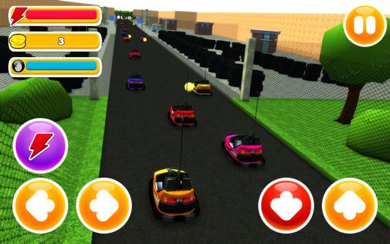 bumper cars 60 seconds runner poster