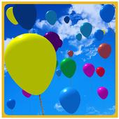 Balloon Pop Kids Fun icon