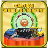Cartoon Wheel of Fortune Free icon