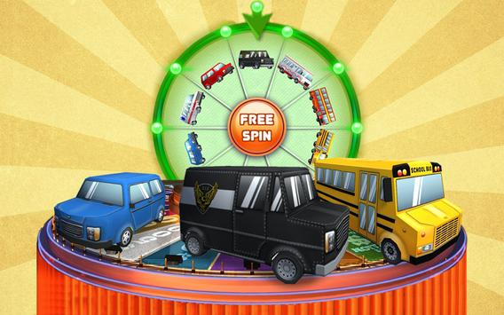Cartoon Wheel of Fortune Free poster