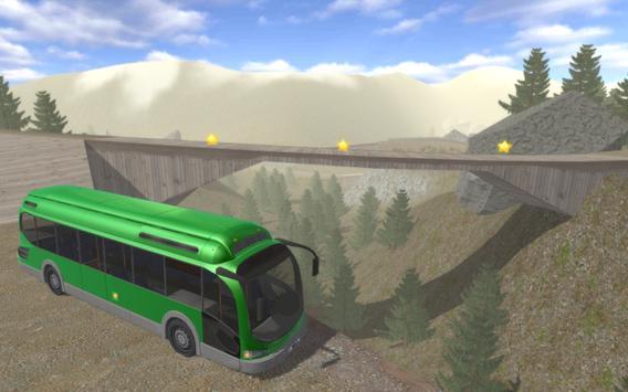 Commercial Bus Hill Climb Sim apk screenshot