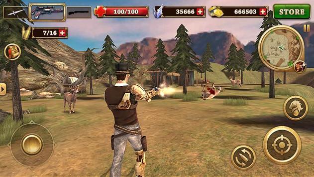 Canonnier Ouest - West Gunfighter capture d'écran 11