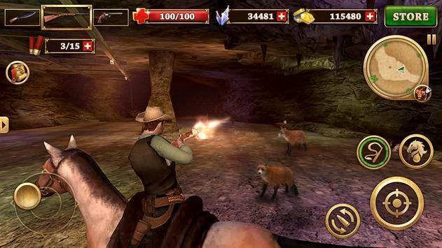 Canonnier Ouest - West Gunfighter capture d'écran 13