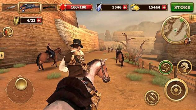 14 Schermata Ovest Combattente - West Gunfighter