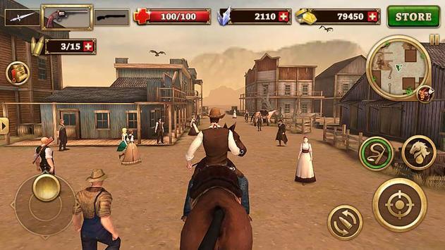 1 Schermata Ovest Combattente - West Gunfighter