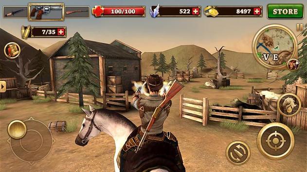 Canonnier Ouest - West Gunfighter capture d'écran 8