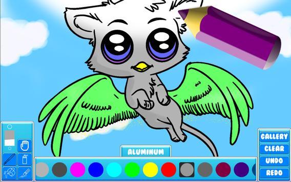 DIY : Fantasy Coloring Book screenshot 6