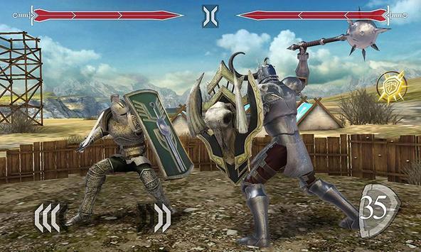 Tödlicher Schwertkampf 3D Plakat