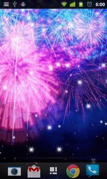 Fireworks Live Wallpaper screenshot 2