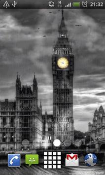London Clock Live Wallpaper poster