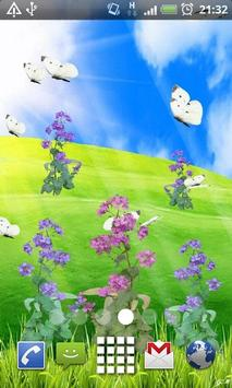 Summer Time Flowers LWP poster