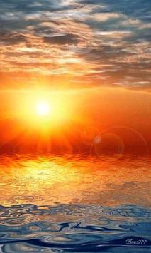 Reflecting Sunset Live Wallpap apk screenshot