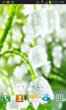 Teacup Flowers Live Wallpaper apk screenshot