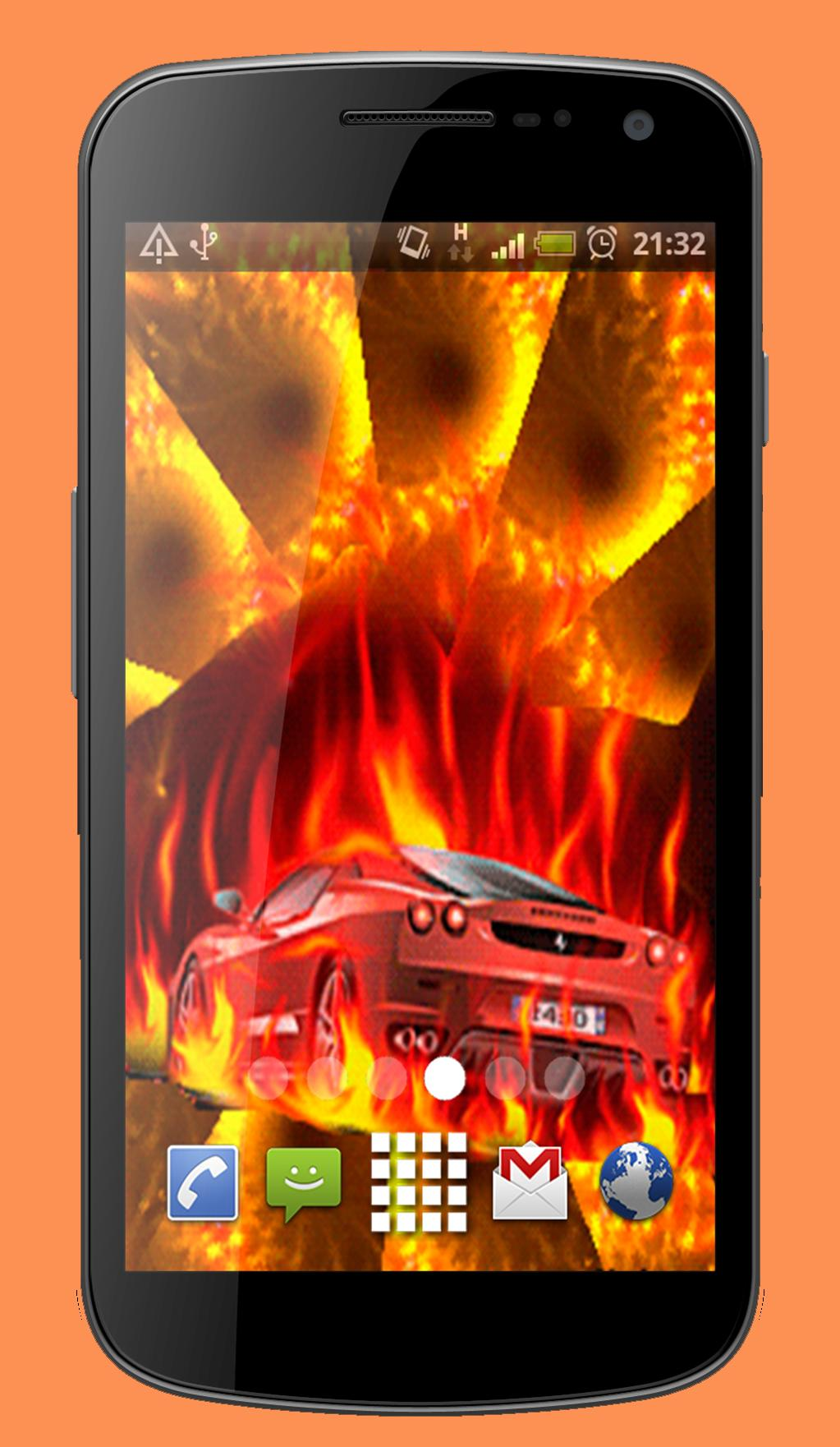 Fire Car Live Wallpaper Theme For Android Apk Download