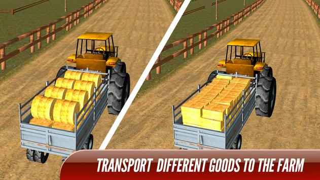 Tractor Trolley Real Farming Tractor 3D screenshot 6