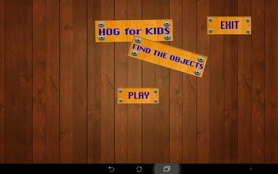 Hidden object games for Kids poster