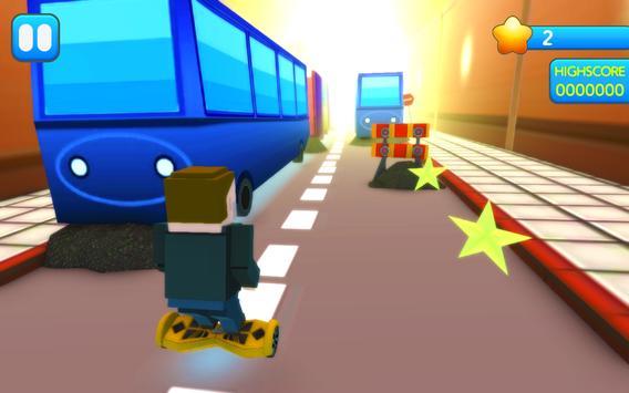 Hoverboard Subway Race Surfer apk screenshot