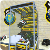 Police Prize Claw Machine Fun icon
