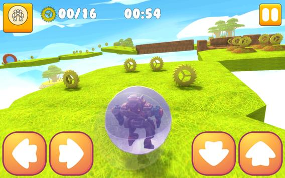 Super Robot Ball : Transform apk screenshot