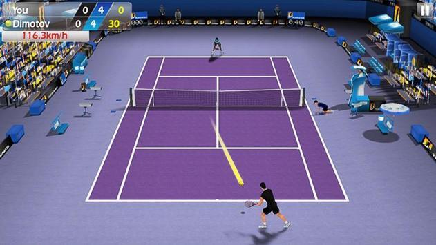 指尖網球 3D - Tennis 截圖 3