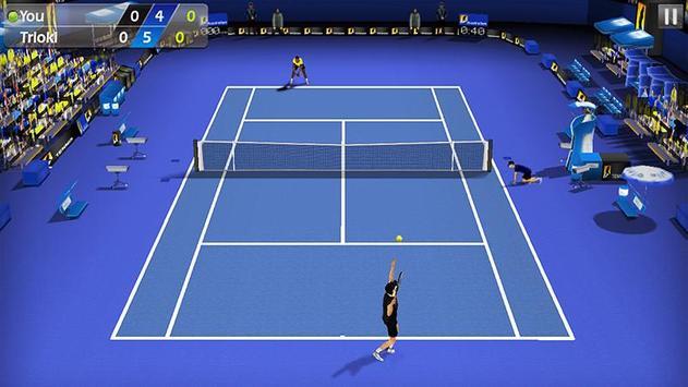 3D Tennis poster