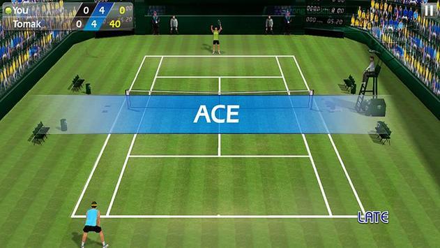 指尖網球 3D - Tennis 截圖 1