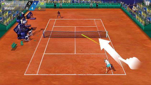指尖網球 3D - Tennis 截圖 2