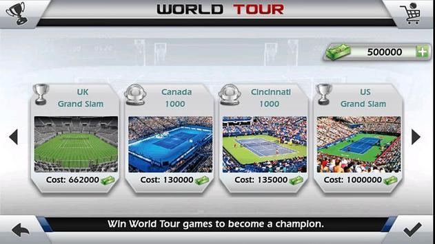 指尖網球 3D - Tennis 截圖 9