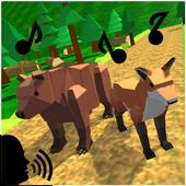 ZigZag Scream: Blocky Animals icon