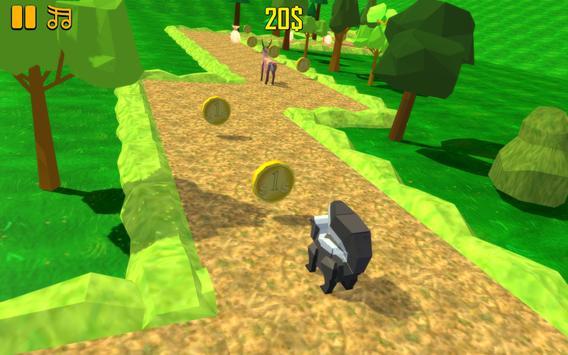 ZigZag Scream: Blocky Animals apk screenshot
