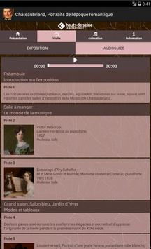 Chateaubriand, Exposition apk screenshot