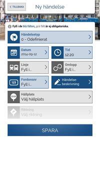 Göteborgs Spårvägar Händelse screenshot 1