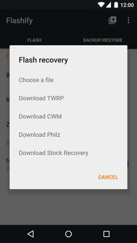 Flashify captura de pantalla 1