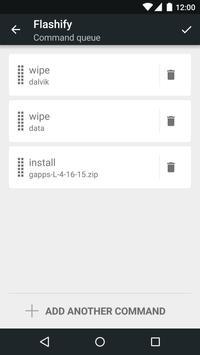 Flashify captura de pantalla 4