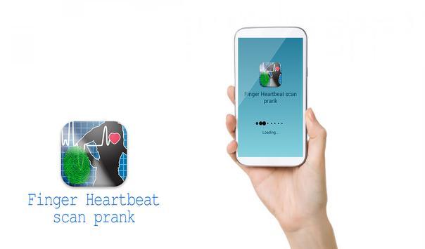 Finger Heartbeat scan prank poster
