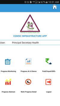 CGMSC PHYSICAL WORK PROGRESS screenshot 2