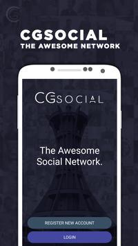 CG Social poster