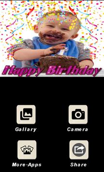 BirthDay Photo Frames-Wishing App and Editor-free poster