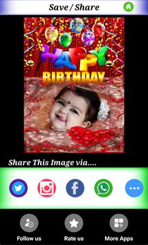 BirthDay Photo Frames-Wishing App and Editor-free screenshot 2