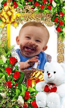 BirthDay Photo Frames-Wishing App and Editor-free apk screenshot