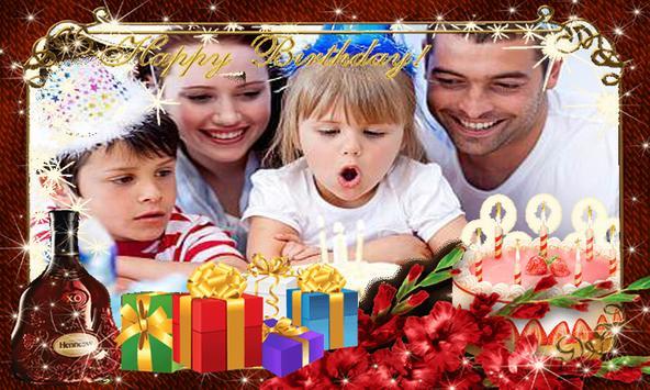 BirthDay Photo Frames-Wishing App and Editor-free screenshot 3